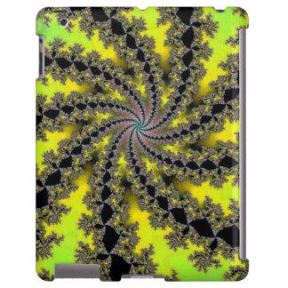 Diseño del fractal del espiral de la cal del limón