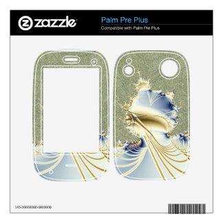 Diseño del fractal del humor del invierno skins para palm pre plus