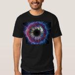 Diseño del fractal del ojo de Tesla Camisas