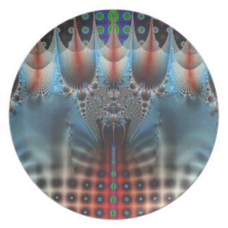 Diseño del fractal platos