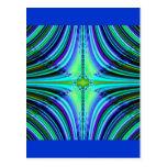 Diseño del fractal postal