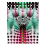 Diseño del fractal postales