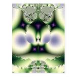 Diseño del fractal tarjeta postal