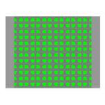 Diseño del fractal tarjetas postales