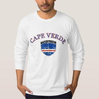 Diseño del fútbol de Cabo Verde Playera