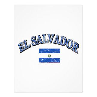 Diseño del fútbol de El Salvador Membrete