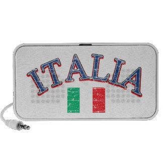 Diseño del fútbol de Italia Mp3 Altavoz