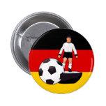 Diseño del fútbol de la tabla de Deutschland Fussb Pin