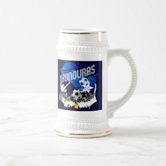 Diseño del fútbol del festa del futbol de la jarra de cerveza