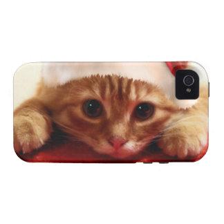 diseño del gatito iPhone 4 carcasa