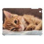 diseño del gatito iPad mini protectores