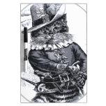 Diseño del gato del pirata