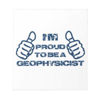 Diseño del geofísico bloc de notas