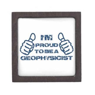 Diseño del geofísico caja de joyas de calidad