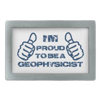 Diseño del geofísico hebillas cinturon rectangulares