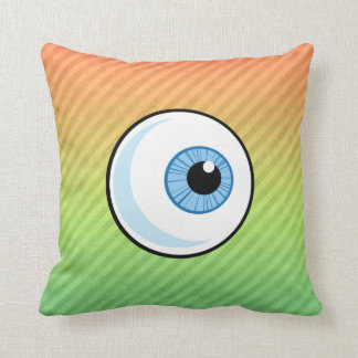 Diseño del globo del ojo cojín decorativo