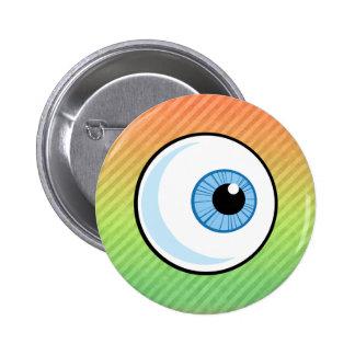 Diseño del globo del ojo pin