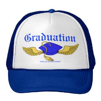 Diseño del gorra de la graduación