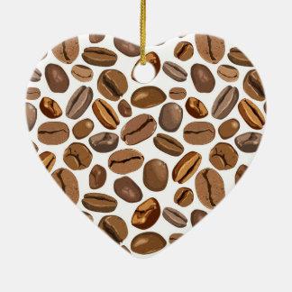 Diseño del grano de café de la diversión ornamentos de reyes
