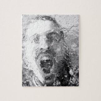 Diseño del grito rompecabezas con fotos