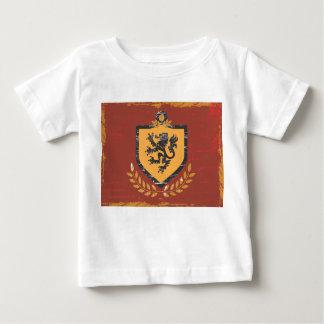 Diseño del Grunge del escudo de armas del escudo Playera De Bebé