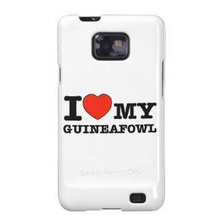 diseño del guineafowl samsung galaxy s2 carcasa
