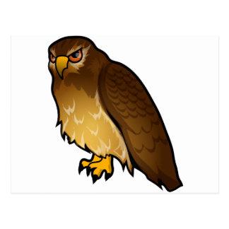 Diseño del halcón postal