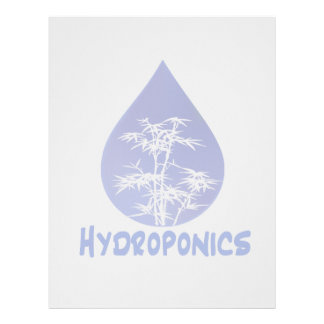 Diseño del hidrocultivo, descenso azul y árbol bla membrete a diseño