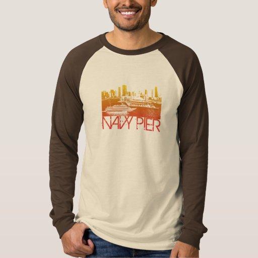 Diseño del horizonte de Chicago Camisas