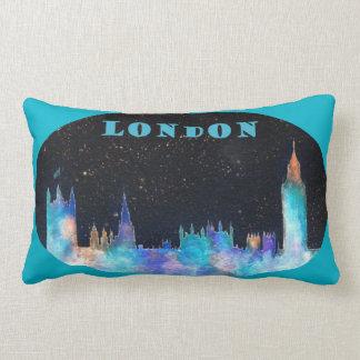 Diseño del HORIZONTE de LONDRES en la almohada