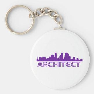¡Diseño del horizonte del arquitecto! Llaveros