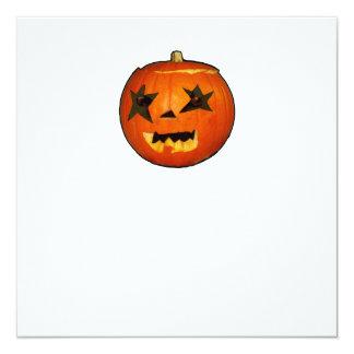 """diseño del horror del susto de Halloween de la Invitación 5.25"""" X 5.25"""""""
