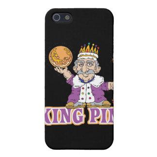 diseño del humor de los bolos de pivote iPhone 5 funda