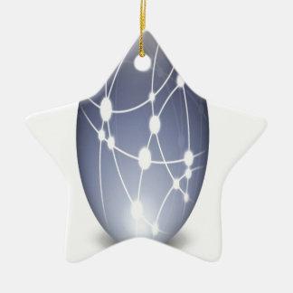 Diseño del icono de la red de Osx Adorno De Navidad