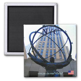 Diseño del imán de la fotografía de New York City