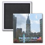 Diseño del imán de la fotografía de Philadelphia