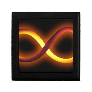 diseño del infinito cajas de recuerdo