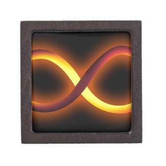 diseño del infinito cajas de regalo de calidad
