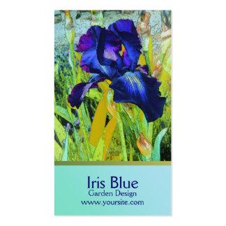 Diseño del jardín de las armonías del iris tarjetas de visita