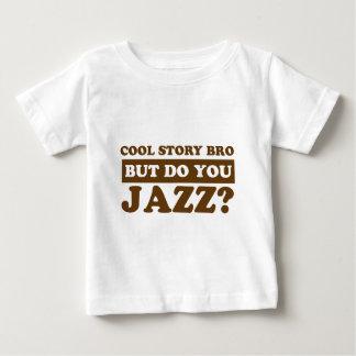 diseño del jazz poleras