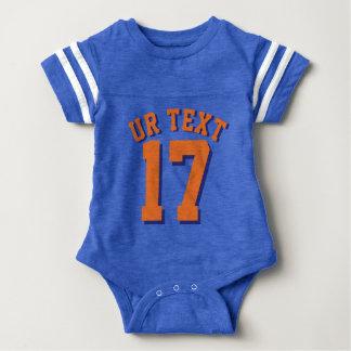 Diseño del jersey de los deportes del bebé el  