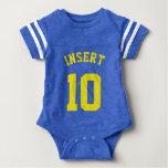 Diseño del jersey de los deportes del bebé el | t shirt