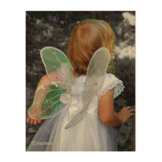 "Diseño del jjhelene del ""ángel"" - arte de madera cuadros de madera"