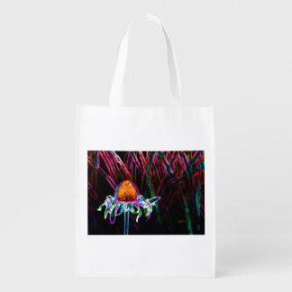 diseño del jjhélène en bolso de ultramarinos bolsa de la compra