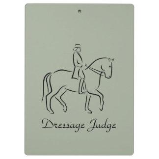 Diseño del juez del Dressage