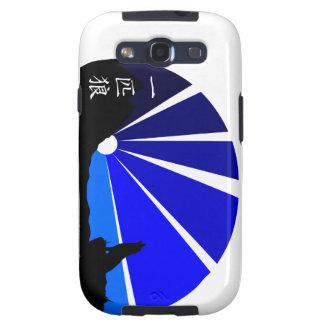 Diseño del kanji del lobo solitario samsung galaxy s3 cárcasas