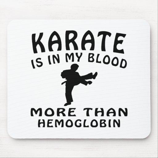 Diseño del karate mouse pad