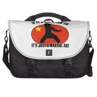 diseño del kungfu bolsas de portatil