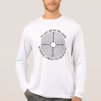 Diseño del laberinto camiseta