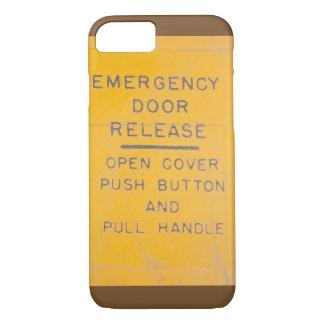 Diseño del lanzamiento de la salida de emergencia funda iPhone 7